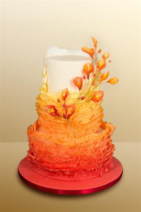 Colorful Wedding Cakes by 6 Bold Colorful Wedding Cakes That Will Make You Say Quot Wow Quot