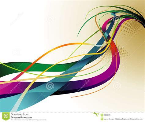 imagenes vectores colores vector de curvas del color