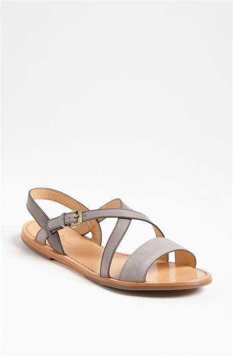 cole haan sandals cole haan minetta sandals in gray rooftop gull grey