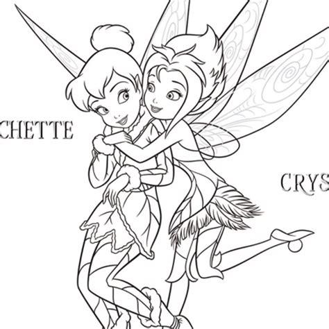 Coloriage Gratuit Fee Clochette Pierre Lune L