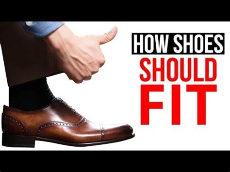 how your dress shoes should fit stop buying the wrong