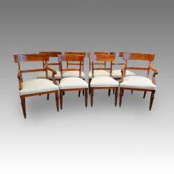 Non Matching Dining Room Chairs Set Of 8 William Iv Dining Chairs Antiques Atlas