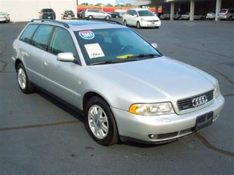 Audi A4 1 8t Specs by 2001 Audi A4 1 8t Quattro Avant Data Info And Specs