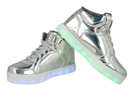 children s shoes with lights children s shoes skechers energy lights 90603l sil