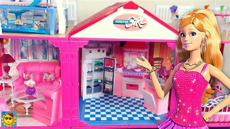 videos de casas de barbie juegos de barbie la casa de barbie 2016 youtube