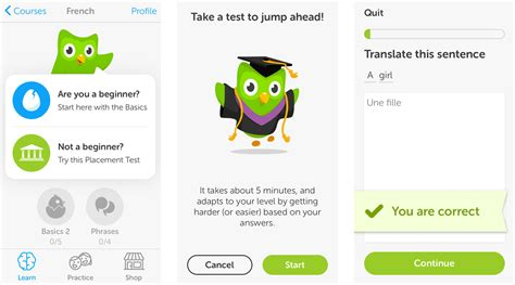 ui pattern progressive disclosure kids projects learn a new language with duolingo on your