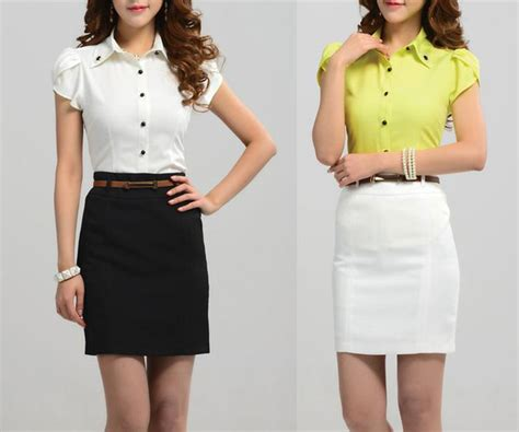 office skirts and blouses for formal blouse designs
