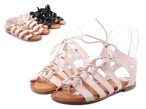 lace up casual preschool sandals youth