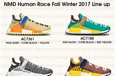 Nmd Human Race Pw Race Trail Multicolor new flavors of the pharrell x adidas nmd human race will