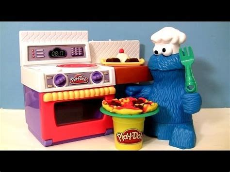 Play Doh Kitchen Creations Chef Set by Play Doh Chef Cookie Eats Letter Lunch Pizza From