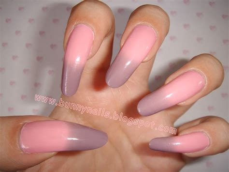 bunny nails bornprettystore color changing mood nail