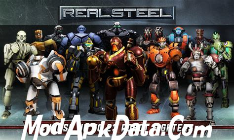 download mod game real steel real steel hd mod apk v 1 5 2 download review apk nyolong