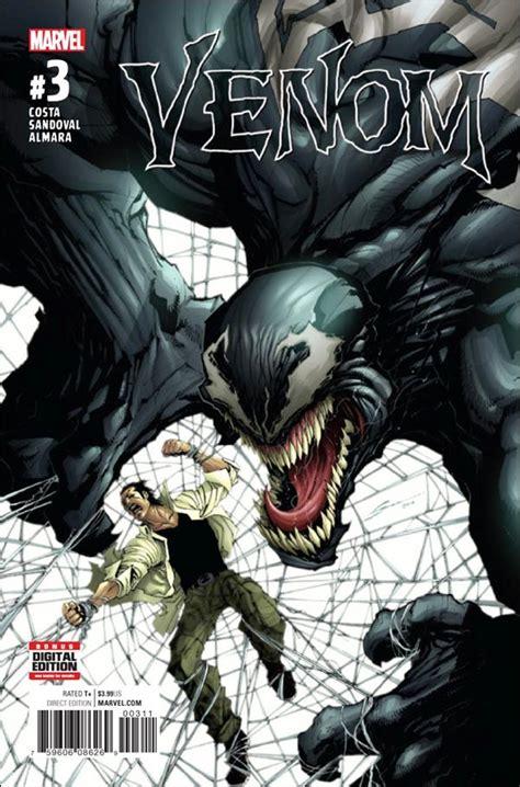 Alpha Venom 3 White Black venom 3 a mar 2017 comic book by marvel