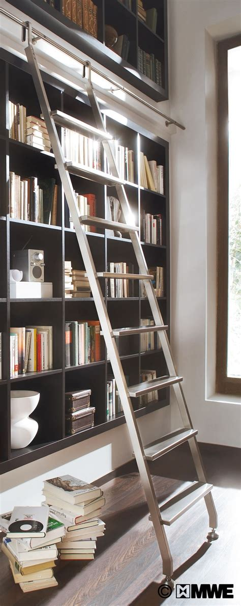 Sliding Ladders For Bookcases 12 Best Images About Hook Ladders On Pinterest Library