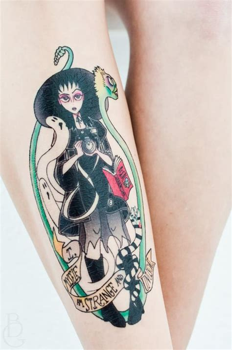 lydia tattoo lydia deetz beetlejuice temporary