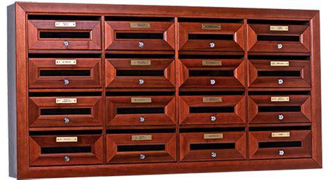 cassetta lettere legno cassette postali in legno eurocasellari