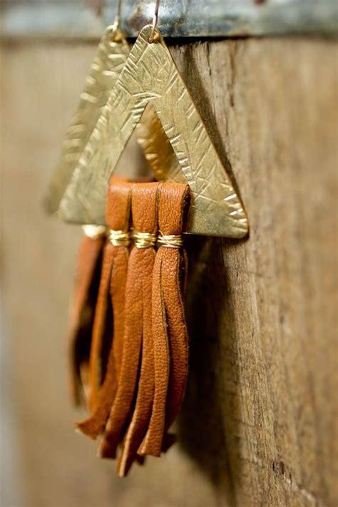 Tasseled Triangle Earrings 197 best images about jewelry tassels on