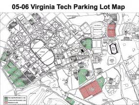 tech cus map pdf viginia tech parking map blacksburg va mappery