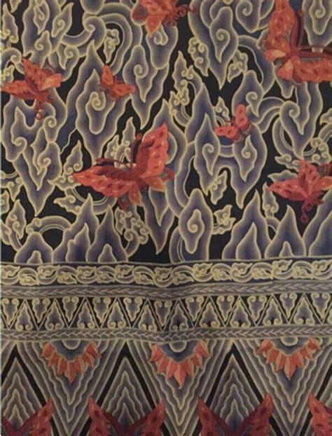 Batik Kupu batik cirebon megamendung kupu kupu