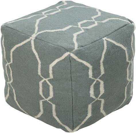 Blue Pouf Ottoman Surya Area Rugs Poufs Ottomans Pouf 25 Slate Blue Furniture Home Dcor Accents Free