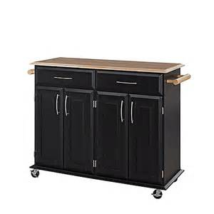 rolling kitchen island cart home styles dolly kitchen rolling island cart