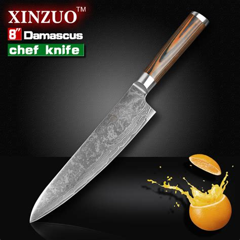 high quality japanese kitchen knives 8 quot inches chef knife high quality 73 layers japanese vg10 damascus steel kitchen chef knife