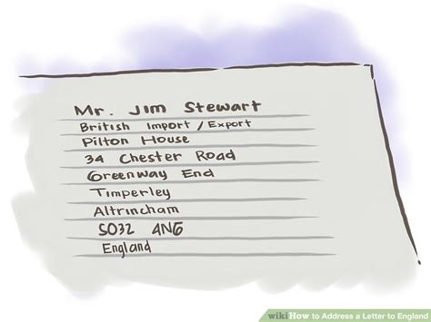 E Mail Address Finder Uk The Easiest Way To Address A Letter To Wikihow