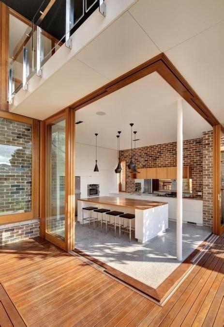 Prefab Outdoor Kitchen Island by 25 Modern Kitchens And Interior Brick Wall Design Ideas