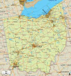 Ohio Maps by Ohio Road Map Images