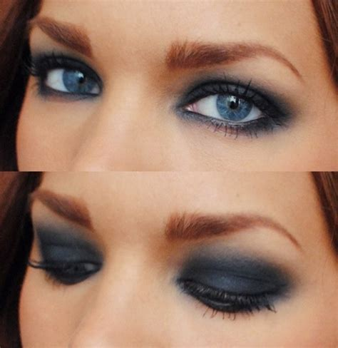 Eyeshadow Wardah Smokey smokey eye makeup for blue makeup vidalondon