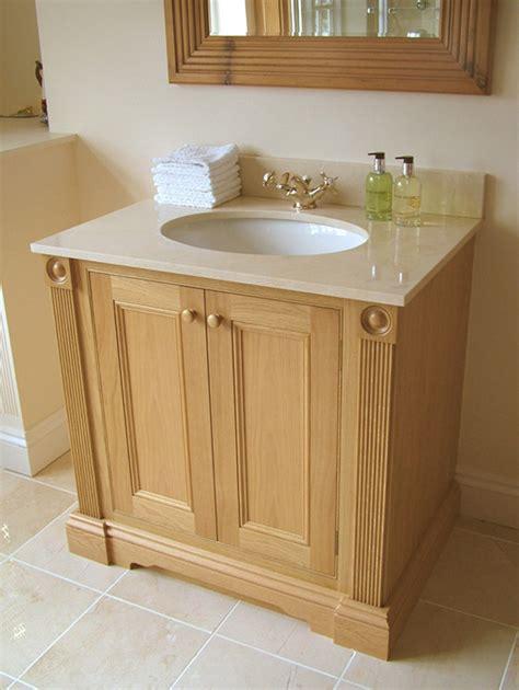 Oak Vanity Units by Luxury Bathrooms Dixon Balston Design Ltd Are Bespoke