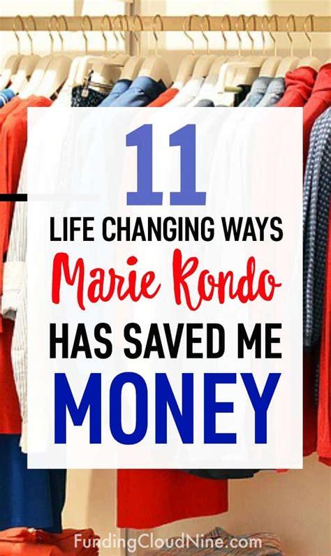 kondo organizing 11 ways kondo saved me money funding cloud nine