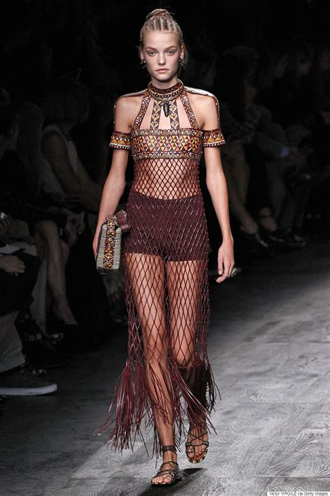 Tribal Inspired Clothes by Valentino S Inspired 2016 Caign Accused