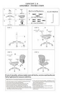Office Chair Assembly Drawing Eurotech Concept 2 0 3d Mesh Chair In Black