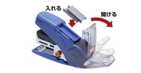 Handy Stapler Etona Hd 10 Staples Limited max sakuri light push handy stapler hd 10nlk japan design award 1x blue ebay