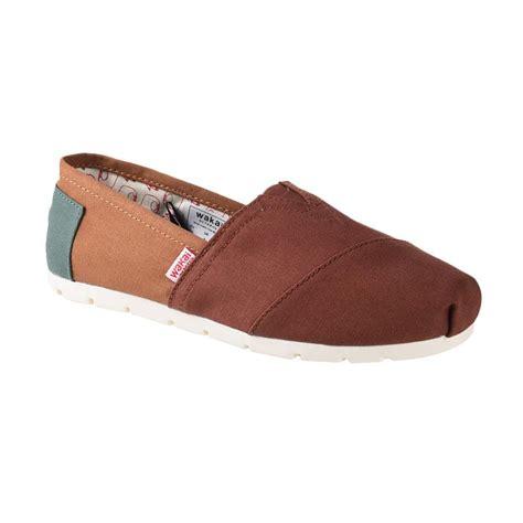 Sepatu Wakai Shoes jual wakai wak cw01704 mitsu sepatu wanita green khaki