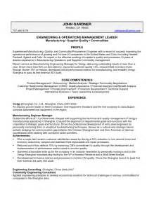 experienced resume sles for software engineers senior quality engineer resume senior free engine image