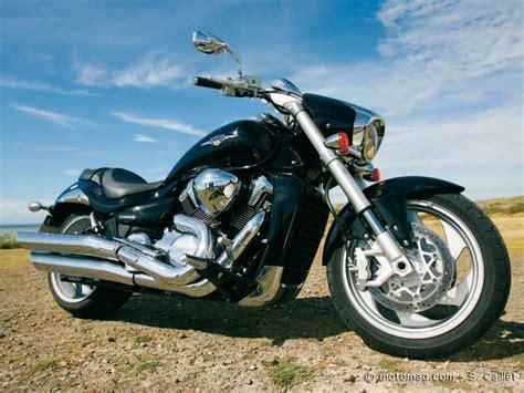 Suzuki Vn 1800 Comparatif Harley Davidson 1584 Cross Bones Kawasaki Vn