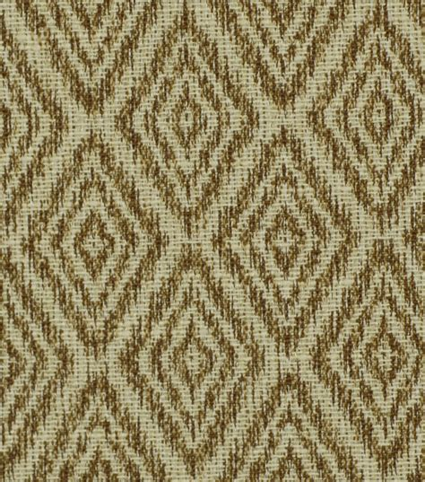 Upholstery Fabric Robert Allen Ikat Diamond Bronze At