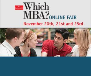 Economist Which Mba by The Economist S Which Mba Fair November 20th