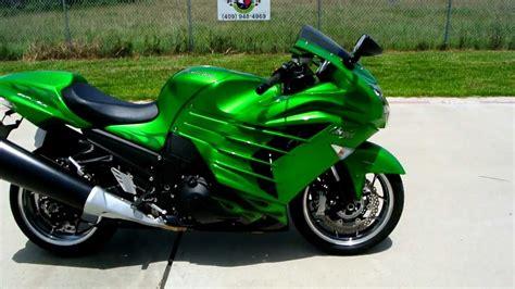 green paint sles pre owned 2012 kawasaki zx14r ninja golden blazed green