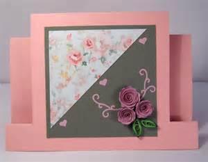 Handmade Greeting Card Designs For Birthday - handmade quilling birthday card quilled flowers design