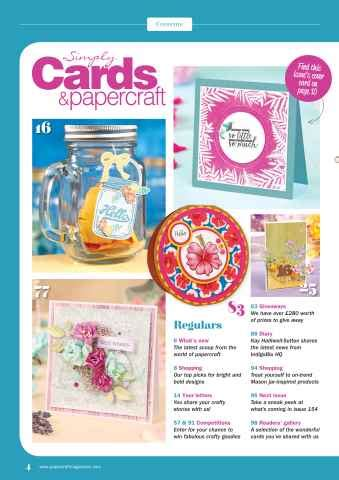 simply cards papercraft 153 pocketmags