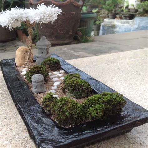 mini zen garden ideas  bring tranquility   home