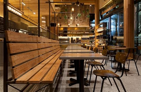 cafe bench seating pablo rusty s caf 233 by giant design sydney australia 187 retail design blog