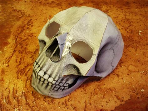 Paper Craft Skull - 301 moved permanently
