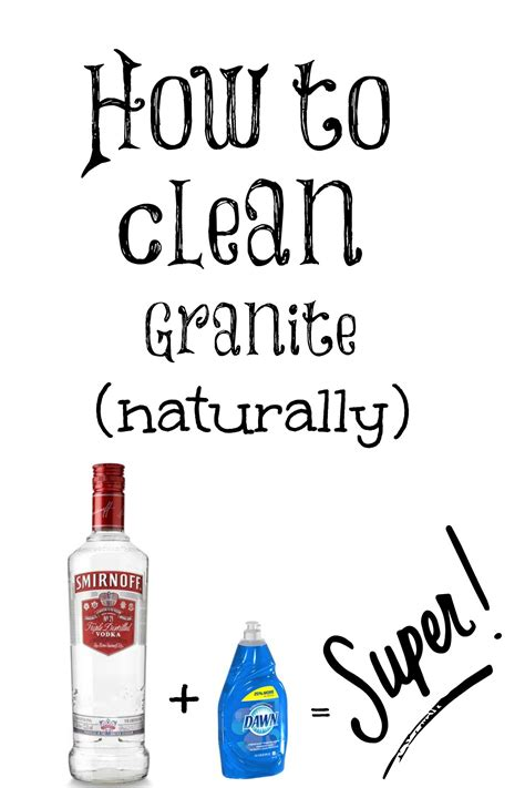 how to clean your granite countertops naturally jpg 1 200