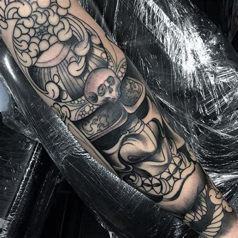 japanese samurai mask tattoo designs 60 samurai helmet designs for japanese ink ideas