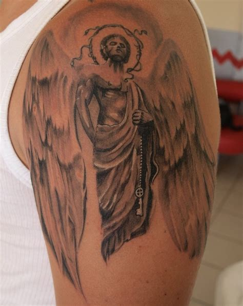 male angel tattoo designs designs and ideas for and yo