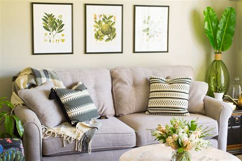 The Living Room Competition by One Room Challenge Reveal Our Living Room Makeover 2017